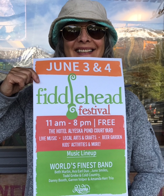 Fiddlehead Festival Gig in Alaska
